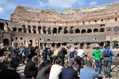 Colosseum amphitheater. Rome, Italy Royalty Free Stock Image