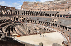 Colosseum amphitheater. Rome, Italy Royalty Free Stock Images