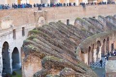 Colosseum Amphitheatre Arena and Hypogeum - Rome Stock Photos