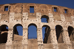 Colosseum ancient amphitheatre in Rome Royalty Free Stock Photography