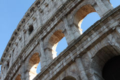 Colosseum, anfiteatro ellittico di Flavian Immagine Stock