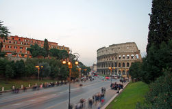 Colosseum (Anfiteatro Flavio) Immagine Stock