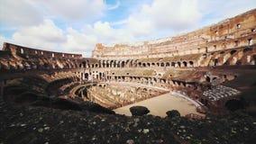 Colosseum antico rovina Roma Italia archivi video