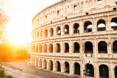 Colosseum antiguo en Roma Fotografía de archivo libre de regalías
