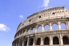 Colosseum antiguo, Roma, Italia Imagen de archivo