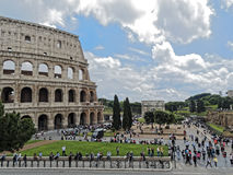 Colosseum  Arch of Constantine area Royalty Free Stock Photography
