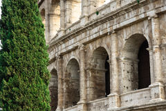 The Colosseum Arches Royalty Free Stock Photos
