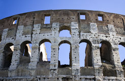 Colosseum arches, Rome, Italy Royalty Free Stock Photos
