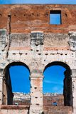 Colosseum -architectural detail Stock Photography
