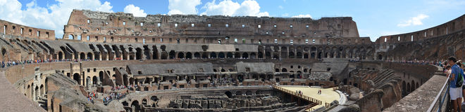 The Colosseum arena Stock Image