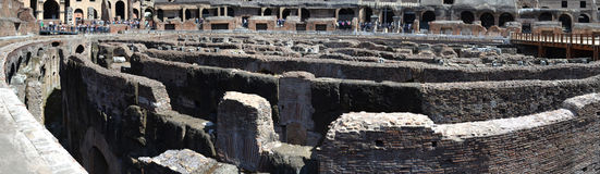 The Colosseum arena Royalty Free Stock Photo