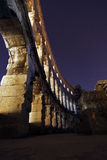 Colosseum At Night Light Stock Photography
