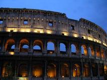 Colosseum au crépuscule Photos libres de droits