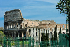 Colosseum back side, Rome Stock Photography