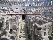 Colosseum. The beautiful structure from roman emperor Stock Images