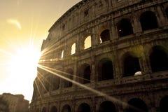 colosseum berömda italy mest ställerome sikt Arkivbilder