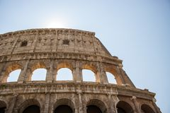 colosseum berömda rome arkivfoto