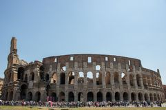 colosseum berömda rome arkivfoton