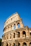 Colosseum with blue sky Royalty Free Stock Photos