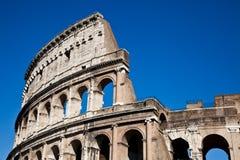 Colosseum with blue sky Stock Photos