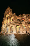 Colosseum in the city center of Rome Italy at twilight Royalty Free Stock Photos