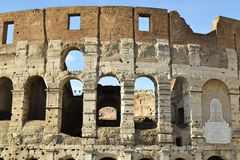 Colosseum close up Royalty Free Stock Photography