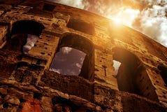 Colosseum (coliseu) em Roma Foto de Stock Royalty Free
