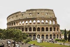 Colosseum (coliseu) - Flavian Amphitheatre em Roma Italy imagens de stock royalty free