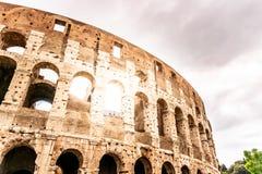 Colosseum, coliseu ou Flavian Amphitheatre, em Roma, It?lia fotos de stock