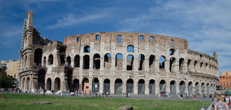 The Colosseum or Coliseum, also known as the Flavian Amphitheatre - Rome Royalty Free Stock Image