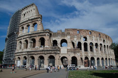 The Colosseum or Coliseum, also known as the Flavian Amphitheatre - Rome Royalty Free Stock Photos