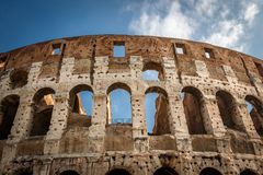Colosseum or Coliseum, also known as the Flavian Amphitheatre Royalty Free Stock Photography