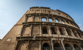 Colosseum or Coliseum, also known as the Flavian Amphitheatre Stock Images
