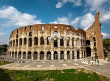 Colosseum or Coliseum, also known as the Flavian Amphitheatre Royalty Free Stock Photo