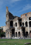 The Colosseum or Coliseum, also known as the Flavian Amphitheatre - Rome Stock Photography