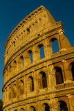 Colosseum or Coliseum Amphitheatre, evening in Rome. Royalty Free Stock Photos
