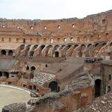 Colosseum, Coliseum of Coloseo, het grootste ooit gebouwde symbool van Flavian Amphitheatre van de oude stad van Rome in Roman Em Stock Fotografie