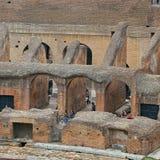 Colosseum, Coliseum of Coloseo, het grootste ooit gebouwde symbool van Flavian Amphitheatre van de oude stad van Rome in Roman Em Royalty-vrije Stock Fotografie