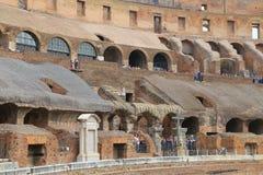Colosseum, Coliseum of Coloseo, het grootste ooit gebouwde symbool van Flavian Amphitheatre van de oude stad van Rome in Roman Em Royalty-vrije Stock Afbeelding