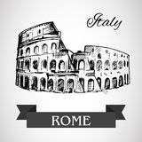 The Colosseum or Coliseum -  Flavian Amphitheatre Royalty Free Stock Images