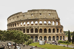 Colosseum  (Coliseum) - Flavian Amphitheatre in Rome. Italy Royalty Free Stock Images
