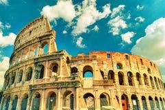 Colosseum (Coliseum) i Rome arkivbilder