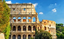 Colosseum (Coliseum) i Rome royaltyfri fotografi