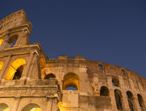 The Colosseum. The Coliseum, Long Exposure, Rome, Italy Royalty Free Stock Photography