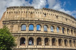 Colosseum (Coliseum), major tourist attraction in Rome, Italy Royalty Free Stock Images