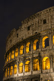 Rome Colosseum at night Royalty Free Stock Image