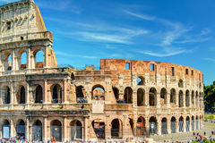 Colosseum (Coliseum) in Rome stock afbeeldingen