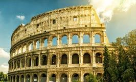 Colosseum (Coliseum) in Rome stock foto's