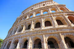 Colosseum Coliseum in Rome. Italy Royalty Free Stock Images