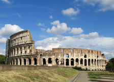 The Colosseum, Coliseum in Rome. The Colosseum or Coliseum, Flavian Amphitheatre (Latin: Amphitheatrum Flavium; Italian: Anfiteatro Flavio or  Royalty Free Stock Images